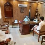 Sharing of project plan with AC Peshawar